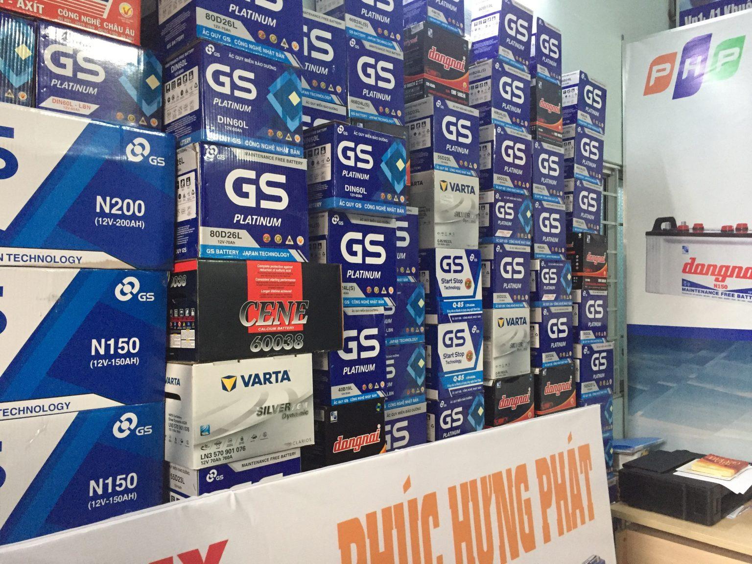 Đại lý ắc quy GS tại Đà Nẵng